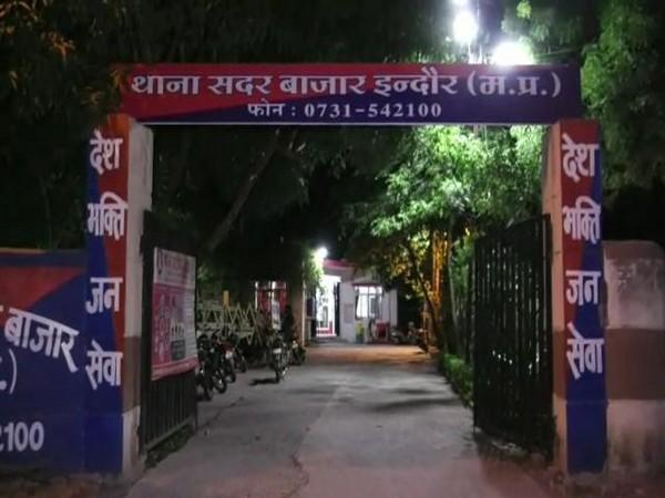 Sadar Bazar police station in Indore. [Photo/ANI]