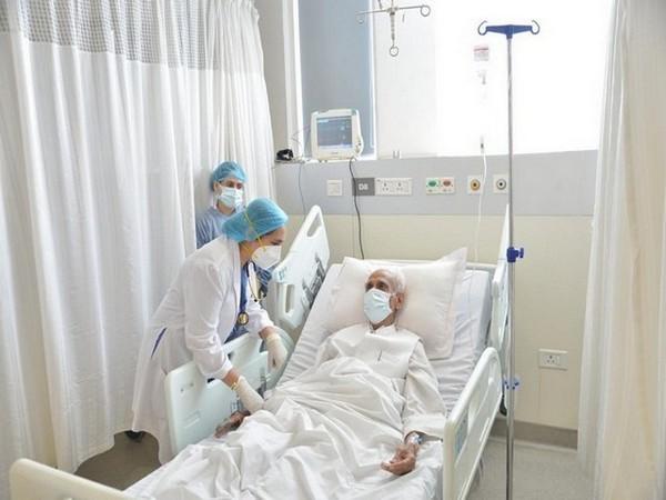 Visuals from Medanta hospital (Photo/ANI)