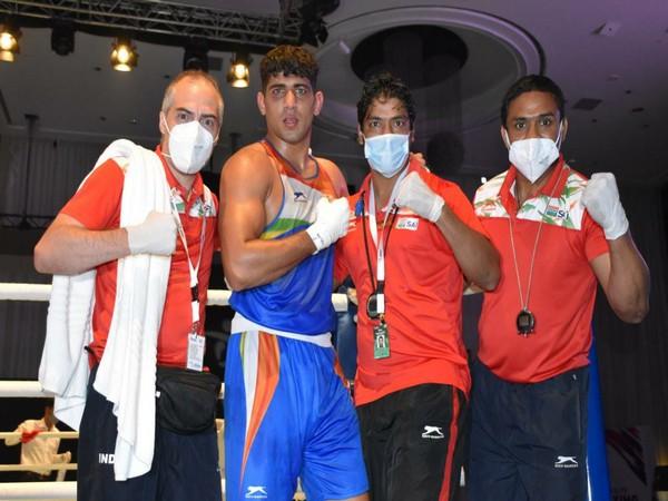 Sanjeet wins gold at Asian Boxing C'ship (Photo/ BFI)