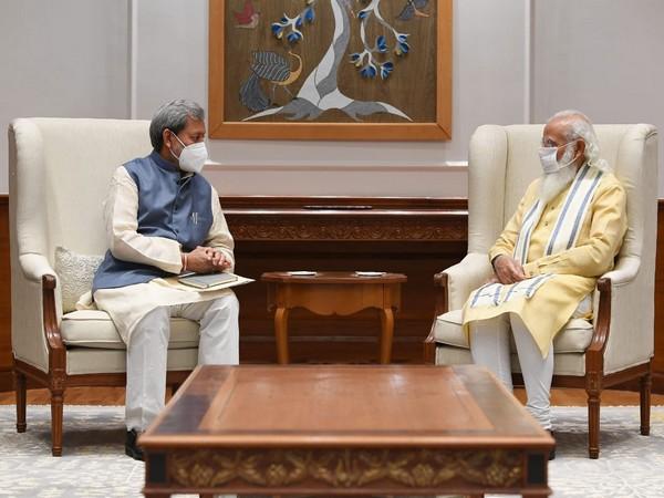 Uttarakhand Chief Minister Tirath Singh Rawat called on PM Modi on Monday in Delhi.