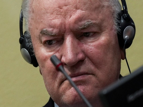 Former Bosnian Serb army leader Ratko Mladic
