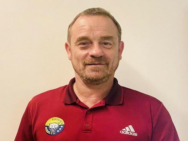 Real Kashmir coach David Robertson