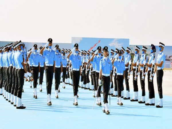 Flight Cadets of various branches of the IAF at Combined Graduation Parade