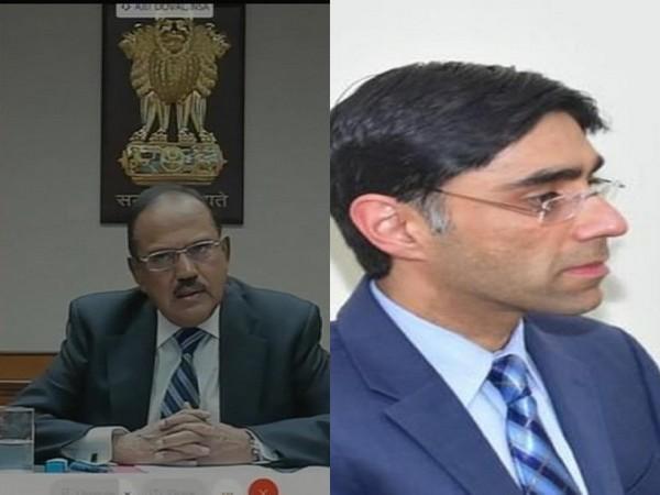 India NSA Ajit Doval and Pakistani NSA Moeed Yusuf