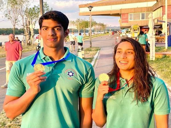Srihari Nataraj and Maana Patel (Photo: SFI)