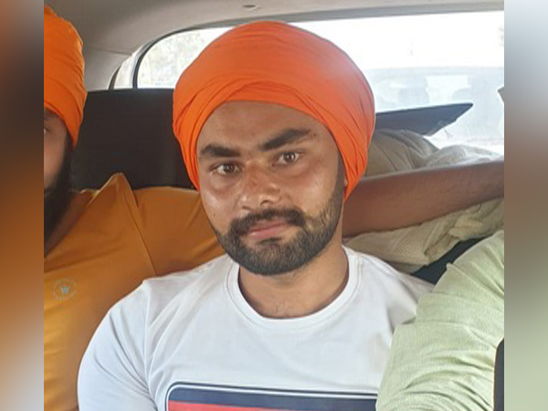 Gurjot Singh, Accused in R-Day Violence case arrested by Delhi Police (Photo/ANI)