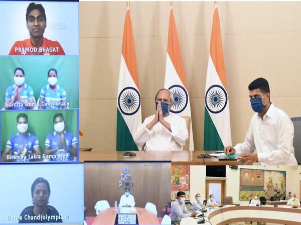 Odisha CM greets Indian Olympic athletes
