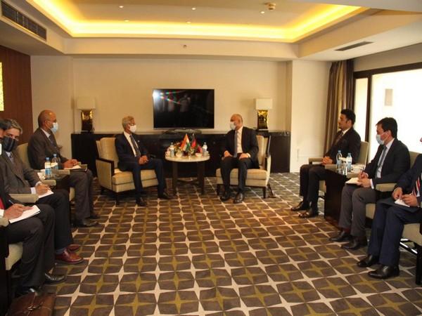 External Affairs Minister (EAM) S Jaishankar met with Afghani counterpart Mohammed Haneef Atmar