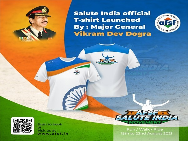 Register to participate in AFSF's Salute India Movement, now!
