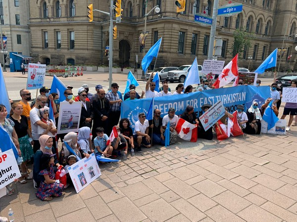 Canada: Protesters urge Prime Minister Trudeau to recognise Uyghur genocide in China