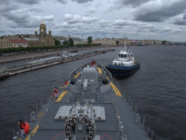INS Tabar is a Talwar-class stealth frigate
