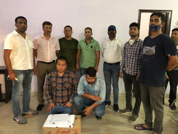 Accused arrested by STF team, Uttarakhand