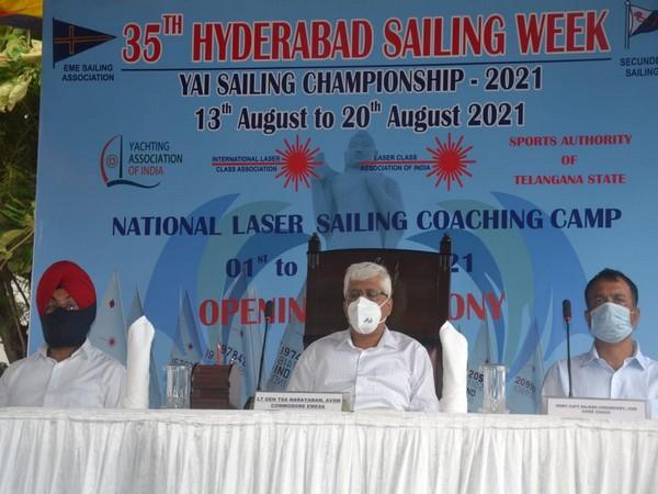 Laser National Coaching Camp, precursor to the Hyderabad Sailing Week
