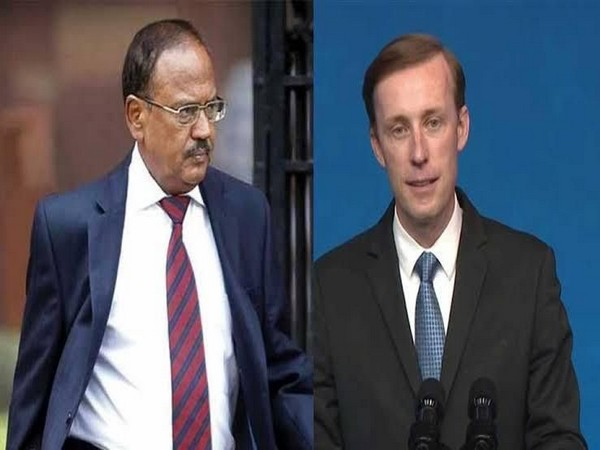 National Security Advisor Ajit Doval and his US counterpart Jake Sullivan