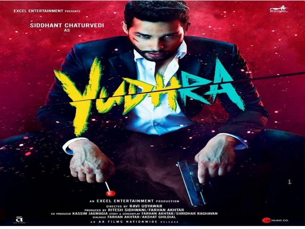 Siddhant Chaturvedi's look from 'Yudhra'