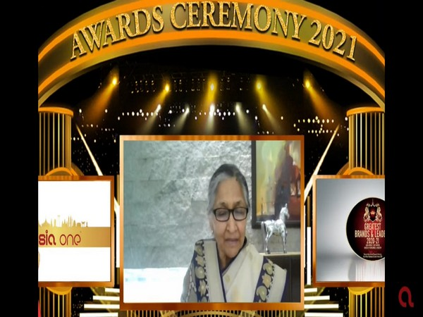 Savitri Jindal gets International Award
