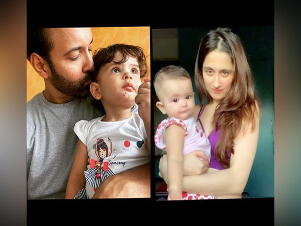 Sanjeeda and Aamir with their daughter (Image source: Instagram)