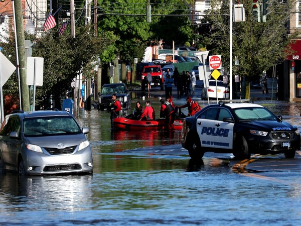 At least 26 people dead in US in hurricane-triggered floods