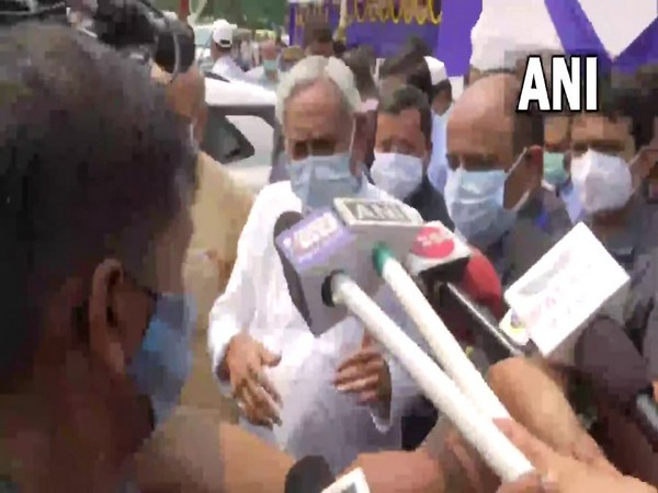 Bihar Chief Minister Nitish Kumar. (Photo/ANI)