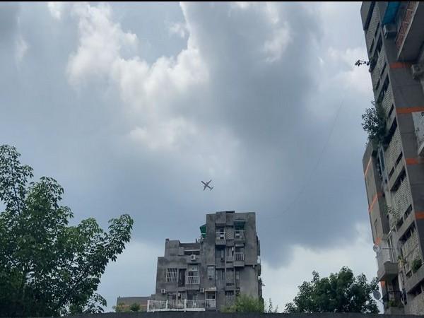 Visuals of the buildings in Vasant Kunj, New Delhi. (Photo/ANI)