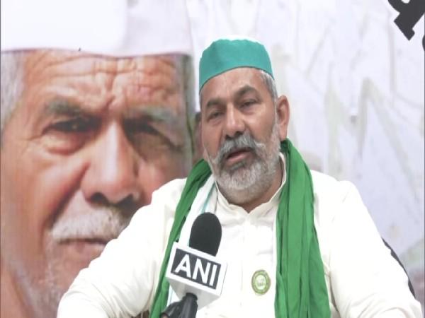 Bharatiya Kisan Union (Arajnaitik) leader Rakesh Tikait. (Photo/ANI)