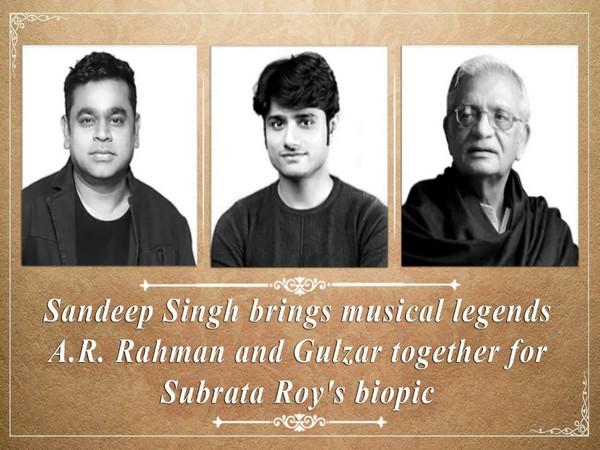 AR Rahman, Sandeep Singh, Gulzar