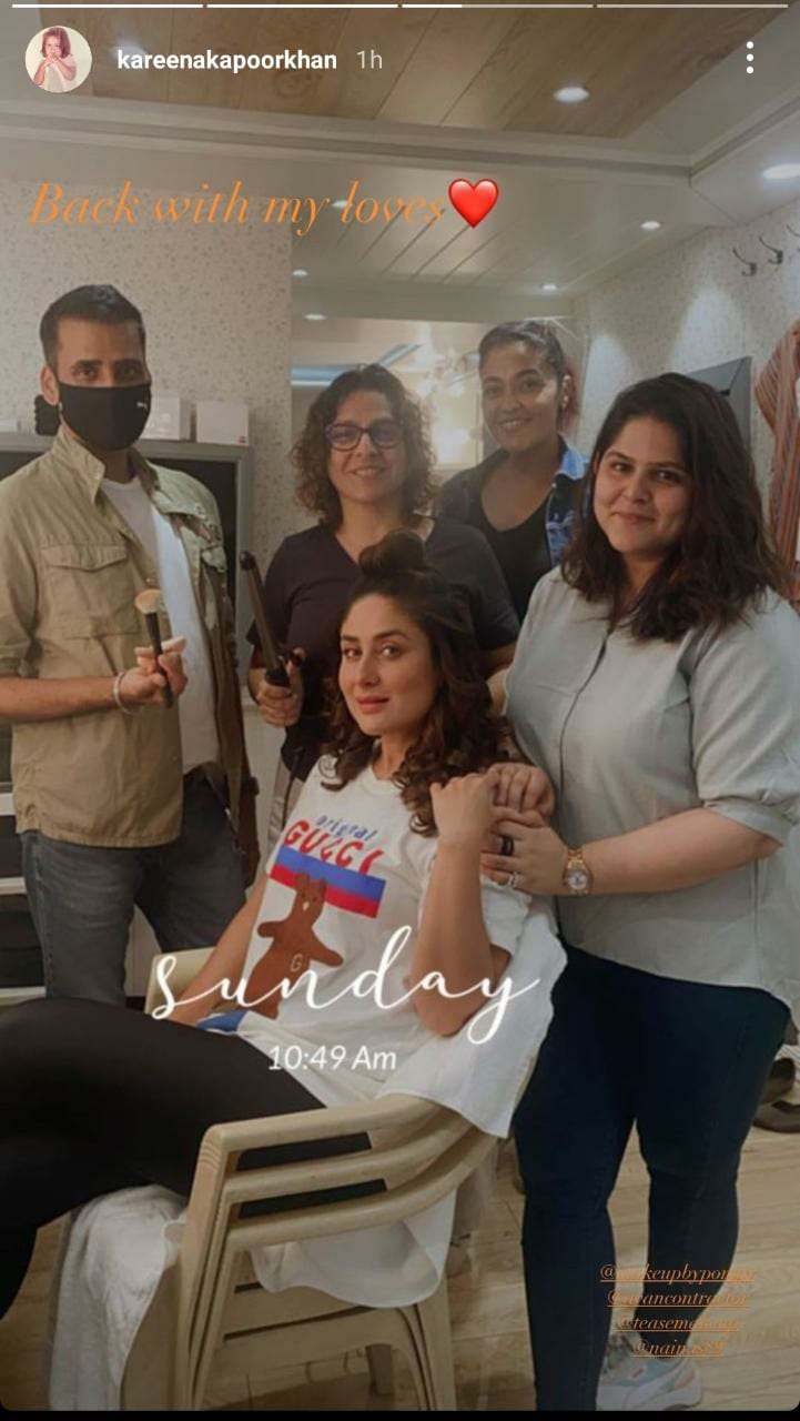 Kareena Kapoor Khan resumes shooting for Laal Singh Chaddha