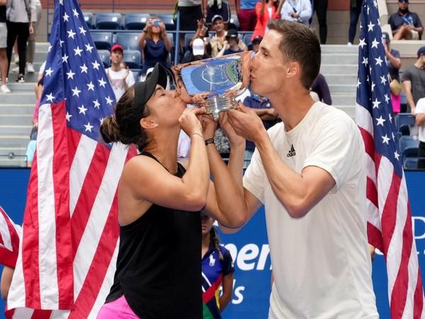 Joe Salisbury and Desirae Krawczyk (Photo: Twitter/US Open)