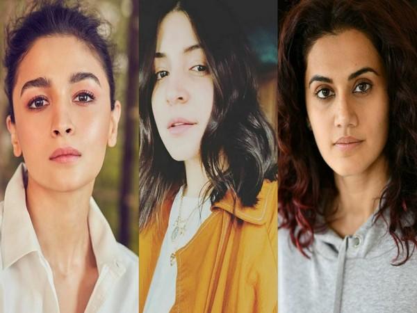 Alia Bhatt, Anushka Sharma, Taapsee Pannu (Image source: Instagram)