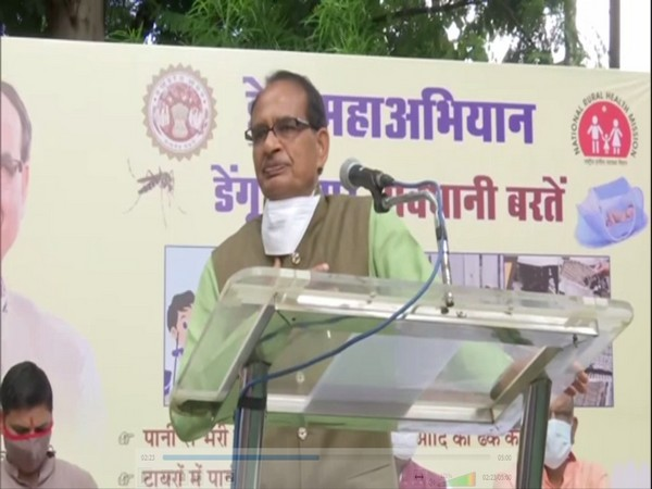 Shivraj Singh Chouhan speaking at the event (Photo/ANI)
