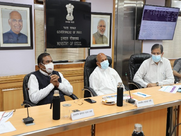 Visual of meeting chaired by Union Minister Ram Chandra Prasad Singh (Photo/PIB)