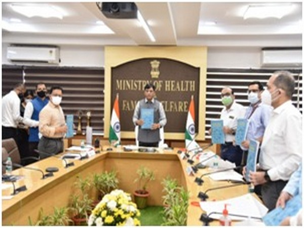 Union Health Minister Mansukh Mandaviya chaired the World Patient Day celebrations in New Delhi on Friday. (Photo/PIB)