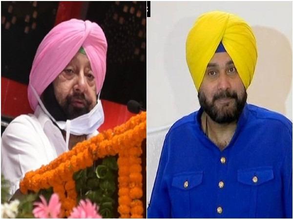 Punjab CM Amarinder Singh and Punjab PCC chief Navjot Singh Sidhu (File Photos)