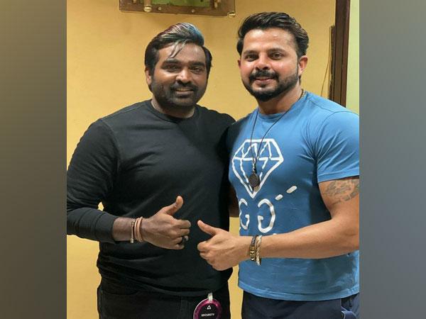 Sreesanth and Vijay Sethupathi (Image source: Instagram)