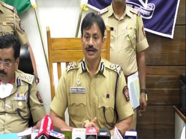 The Police Commissioner of Pimpri Chinchwad, Krishna Prakash (Photo/ANI)
