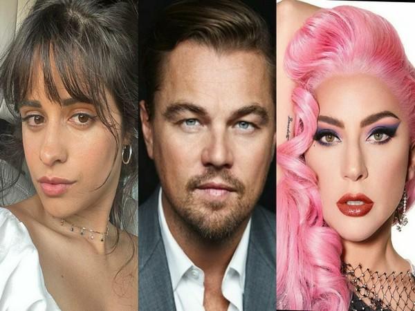 Camila Cabello, Leonardo DiCaprio and Lady Gaga (Image source: Instagram)