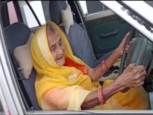 The 90-year-old, Resham Bai Tanwar (Photo/ANI)