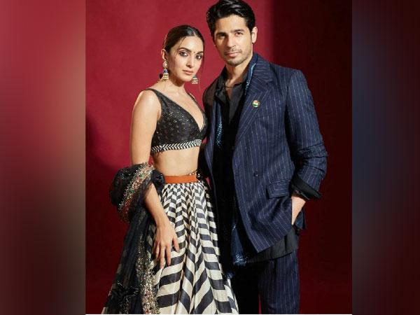 Kiara Advani and Sidharth Malhotra (Image source: Instagram)