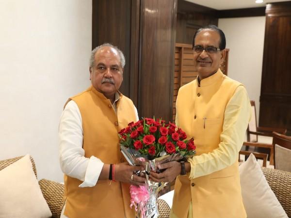 MP CM Shivraj Singh Chouhan met Union Agriculture Minister