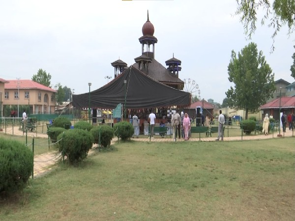 The event being held at Kashmir Haat (Photo/ANI)