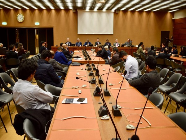 Activists from Pakistan occupied Kashmir (PoK) have condemned the Pulwama terror attack at an event on the sidelines of the 40th session of UNHRC in Geneva, Switzerland (Photo: ANI)