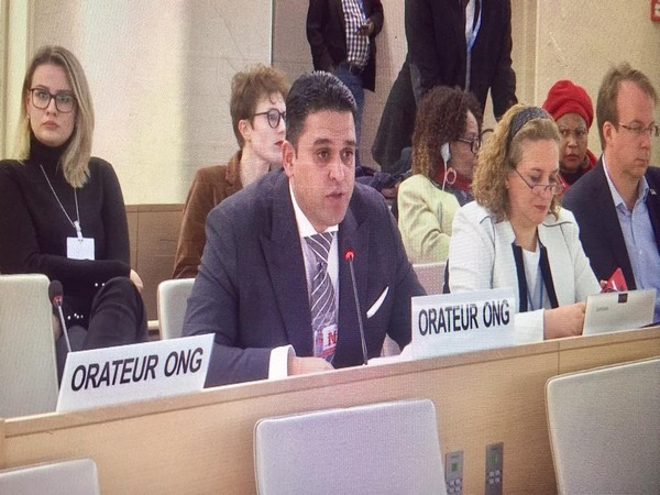 Junaid Qureshi, Director of European Foundation of South Asian Studies at 40th session of UNHRC