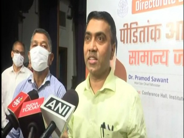 Goa's Chief Minister, Pramod Sawant at the event (Photo/ANI)