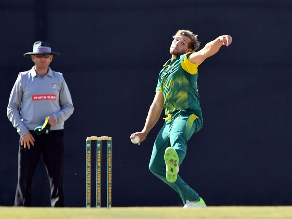 South Africa all-rounder Wiaan Mulder (Photo/ICC Twitter)