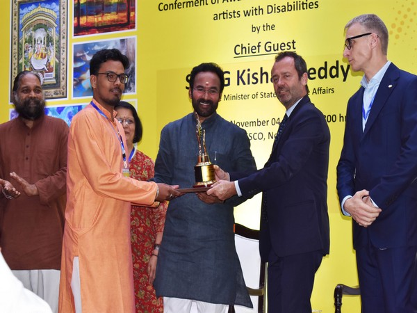 Various specially-abled artists from all over the country were awarded a cash prize of Rs 50,000, a trophy and a certificate at the event.