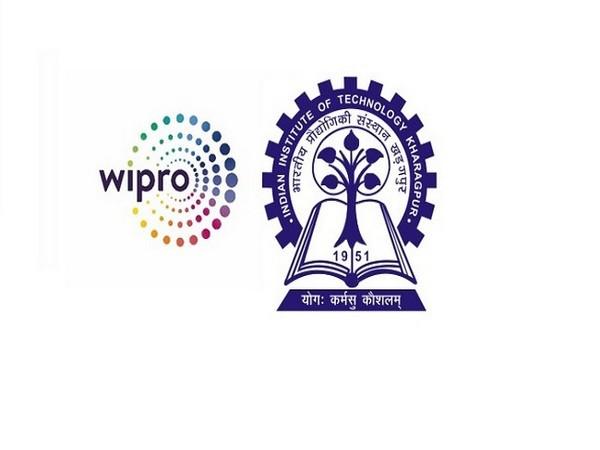 Wipro and IIT Kharagpur Logo