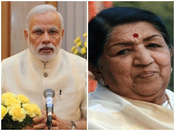 Narendra Modi, Lata Mangeshkar