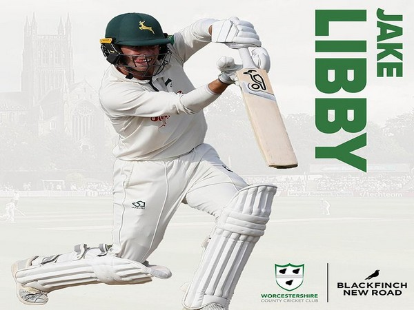 Jake Libby (Photo/Worcestershire CCC Twitter)