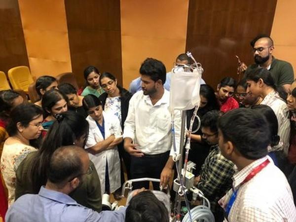 Manipal Hospitals Whitefield organizes basic workshop on ECMO