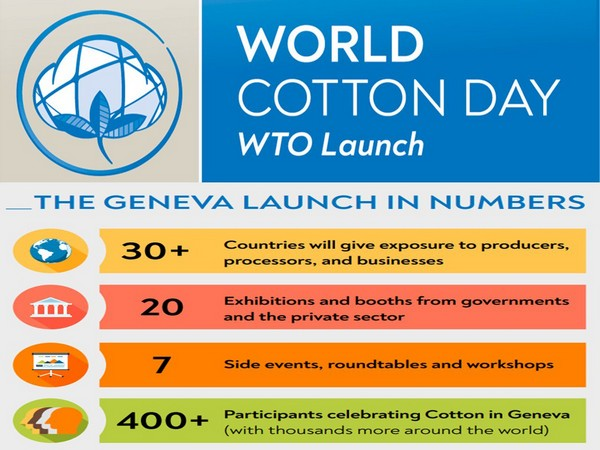 The event will celebrate the many advantages of cotton